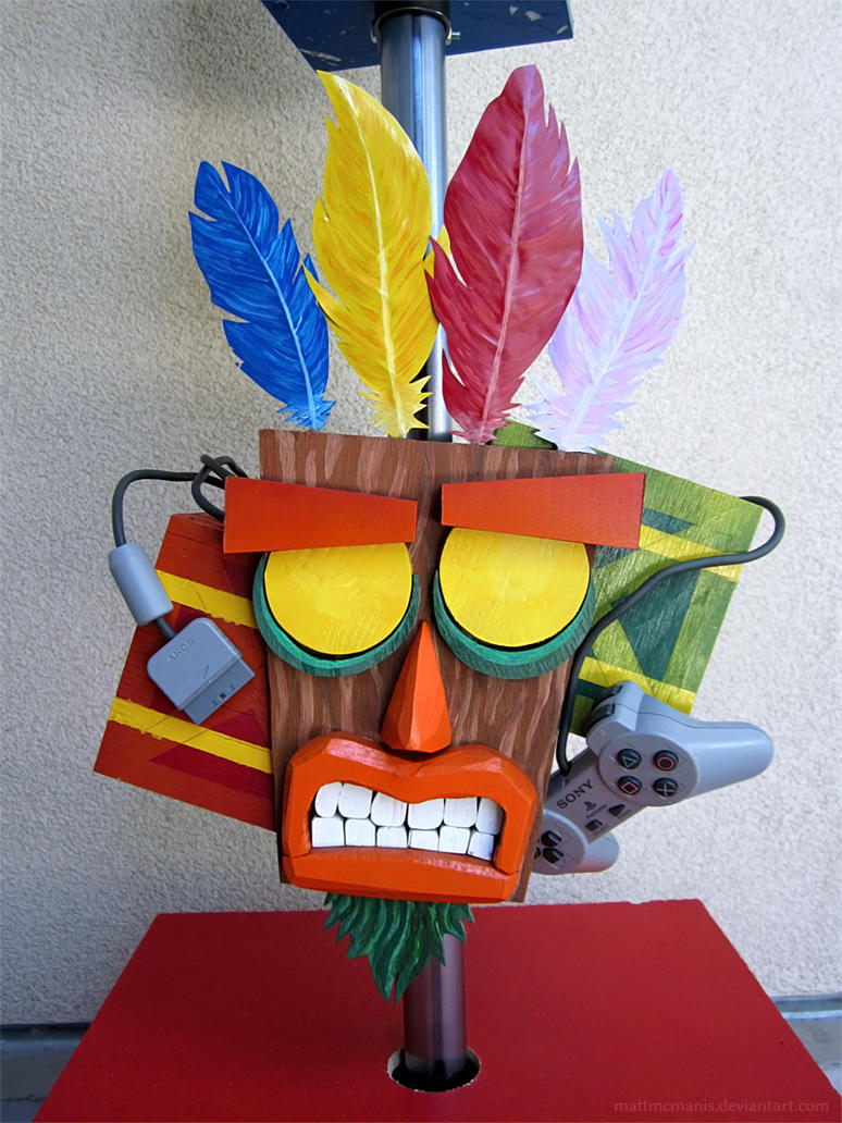 Aku Aku (Crash Bandicoot) by mattmcmanis
