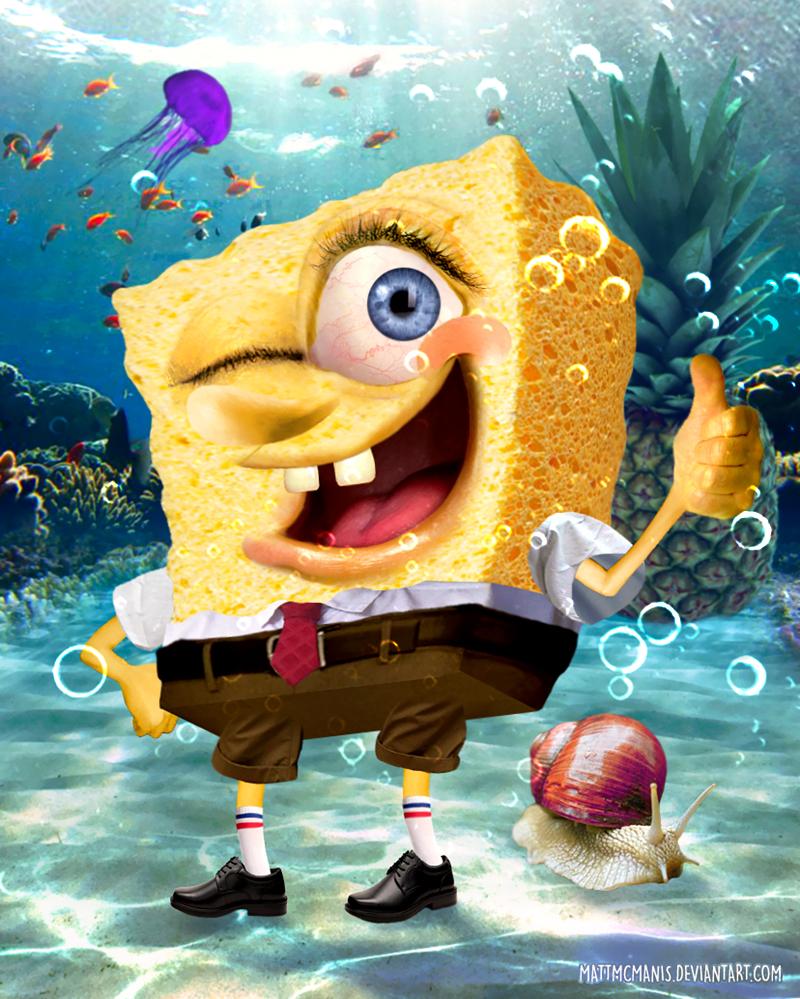 Realistic Spongebob By Mattmcmanis On Deviantart
