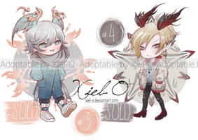 Chibi adoptables#2 sale!! (Closed) by Xiel-O