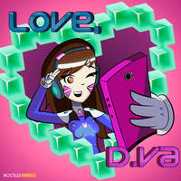 Love, D.va! by ihg911turbo