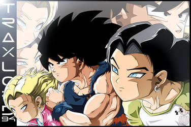 Team Goku, Android 17 And 18.