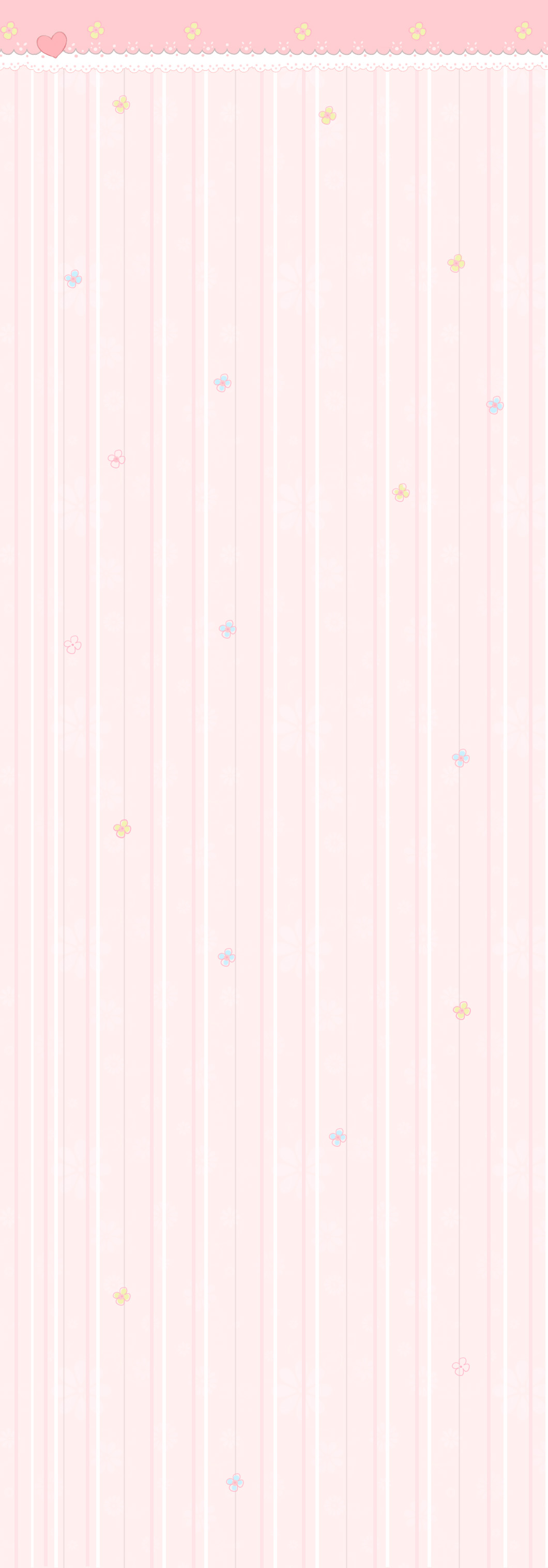 Free Custom box Background: Pastel flowers by Mimru