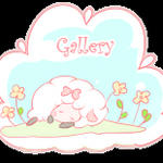 Free sheep button: Gallery by Mimru
