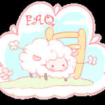 Free sheep button: F.A.Q. by Mimru