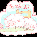 Free Sheep Button : To-Do-List by Mimru