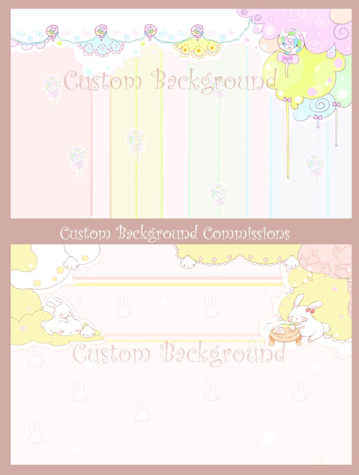 Custom Background Commissions by Mimru