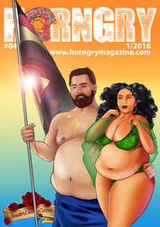 HORNGRY #4 | Cover
