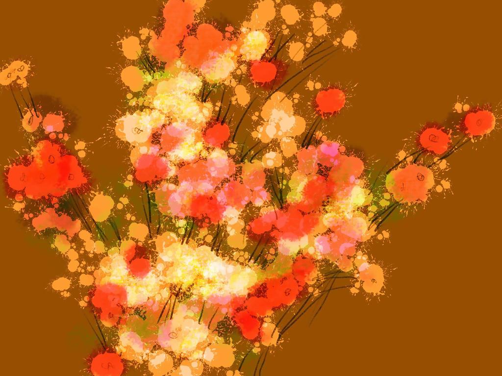 Floral Spray 1 by mscibilia