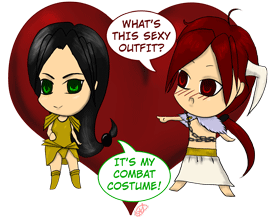 tbotg anina and cratos chibi by hariana