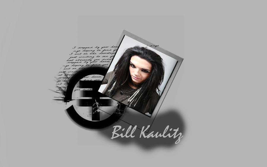 bill kaulitz wallpapers. Bill Kaulitz wallpaper :3 by