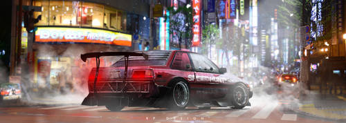 Toyota Corolla ae86 GT-S   JAPAN SPECIAL