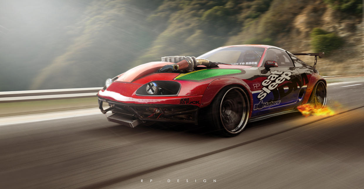 DRIFT BEAST SUPRA! By Erpydesign ...