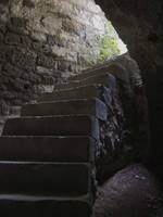 Stairway out of the dungeon by Jantiff-Stocks