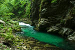 River of dazzling turquoise
