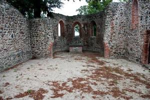 Medieval Church Courtyard by Jantiff-Stocks
