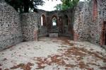 Medieval Church Courtyard