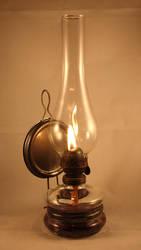 Gaslight Petrol Lamp by Jantiff-Stocks
