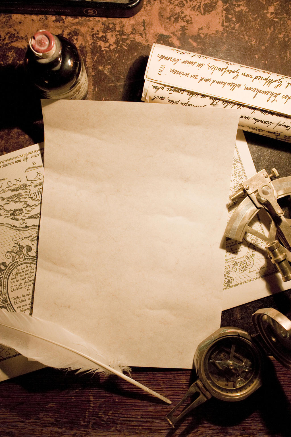 A Pirate's Letter Stock