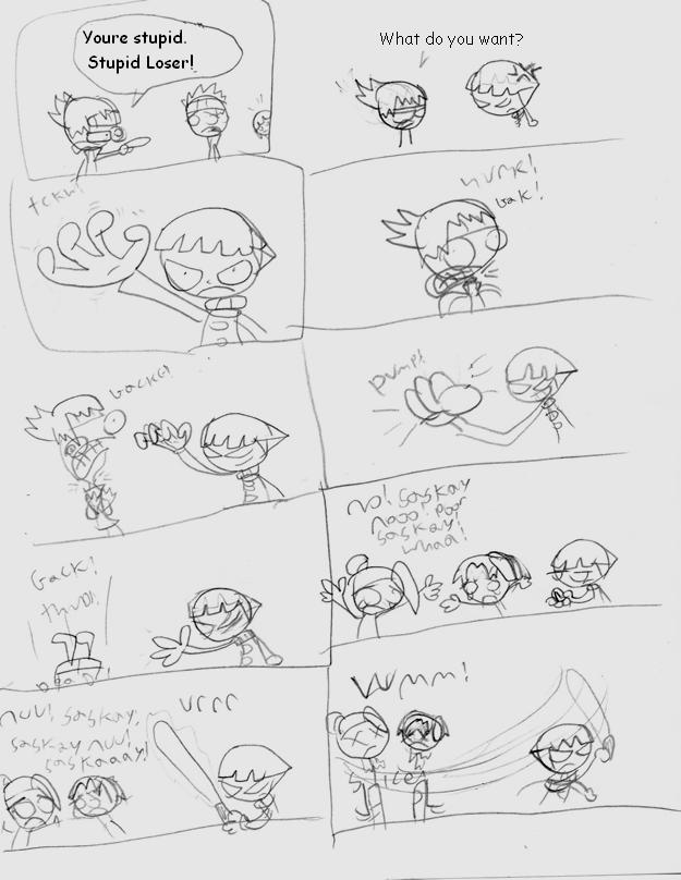 Naruto Comic 5 by LimeTH