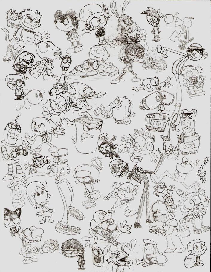 Mega Doodle Dump by LimeTH