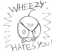 Doodle: Wheezy Hates You by LimeTH