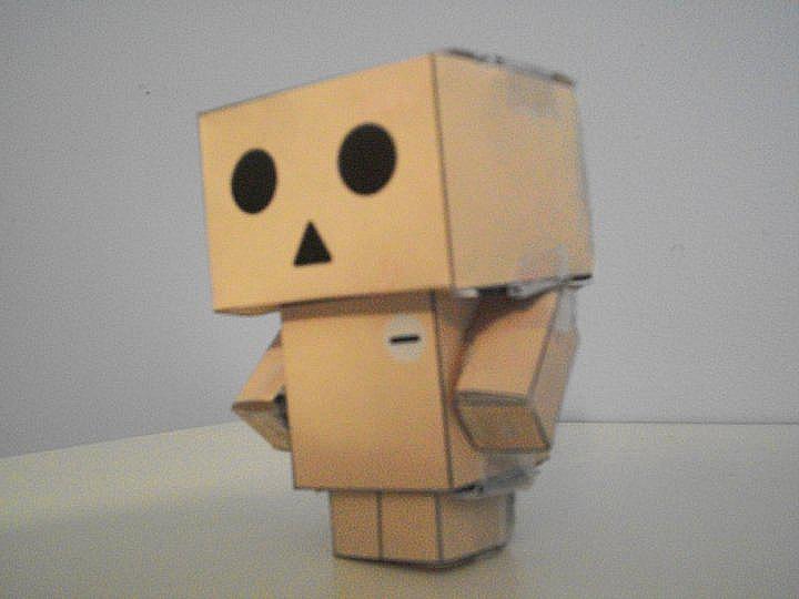 Danbo Cubeecraft Finished.
