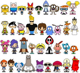 Cartoon Network PACs by LimeTH