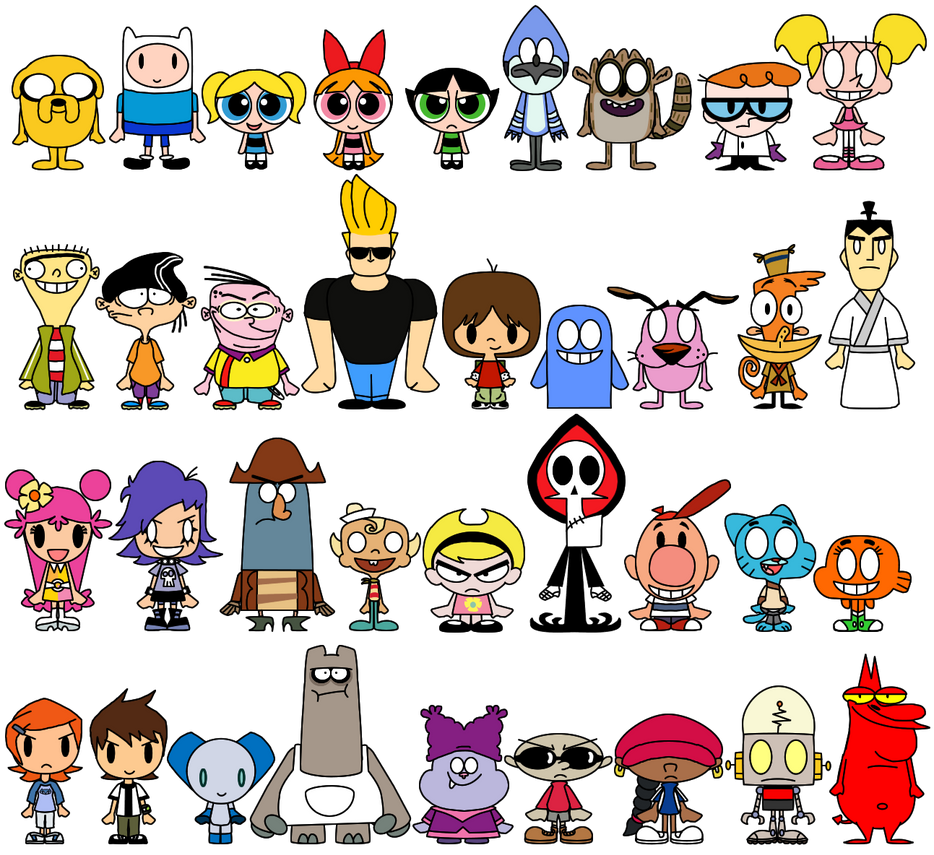 Cartoon network pacs by limeth on deviantart cartoon network pacs by limeth thecheapjerseys Image collections