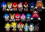 Sonic The Hedgehog PACs V.2