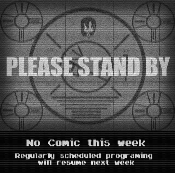 No Comic This Week. by LimeTH