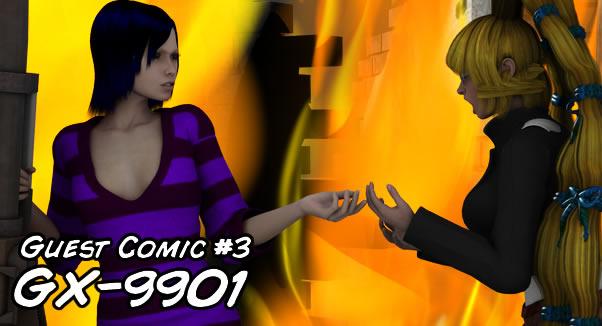 Matchu Guest Comic #3: GX-9901 by LimeTH