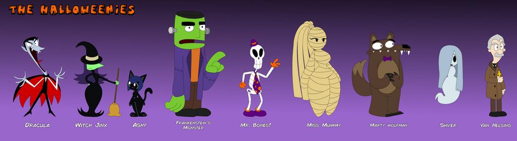 The Halloweenies by LimeTH