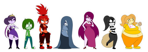 The Sinful Seven by LimeTH