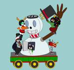 12 Days of Decembermas Train: Frosty Float