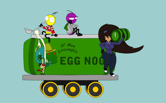 12 Days of Decembermas Train: Egg Nog Tank