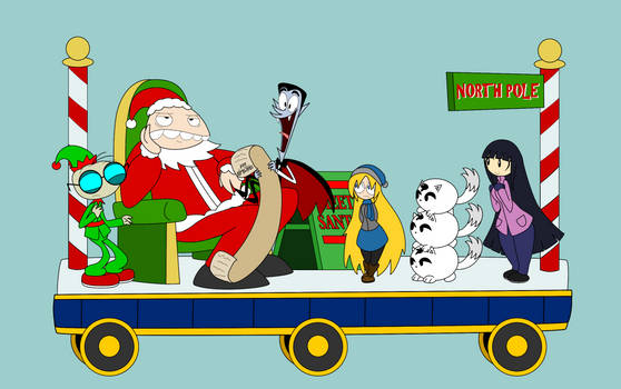 12 Days of Decembermas Train: North Pole