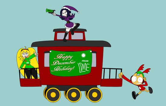 12 Days of Decembermas Train: Caboose