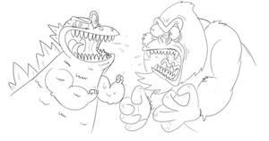 Big G vs Monkey