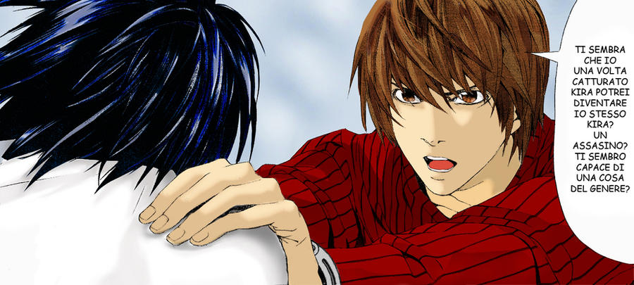 Death Note Coloring Pages