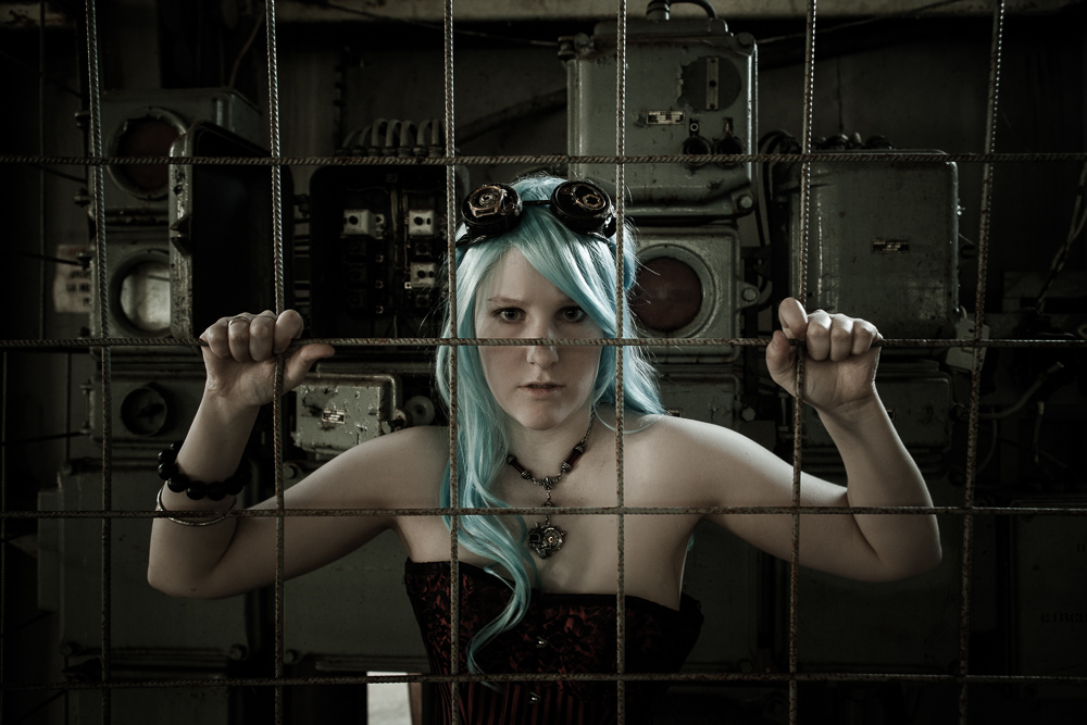 Behind Bars by AcaciaArtist