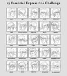 25 expressions - Donar