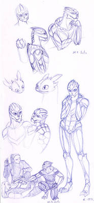Turian sketches