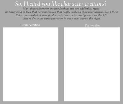 Character Creator Meme
