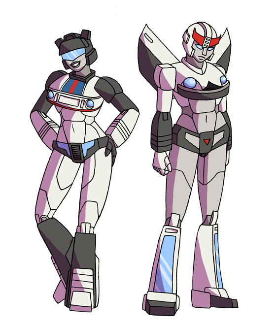 TF - FemJazz and FemProwl by merrypaws