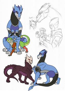 TF - dragonformer OCs
