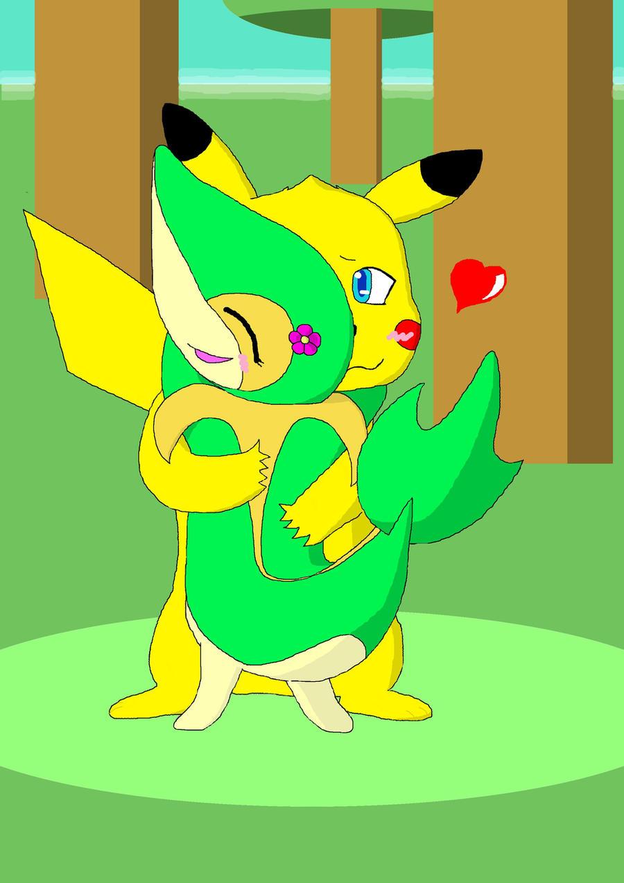 Ash x pikachu yaoi fanfic pikachu x snivy by azilord
