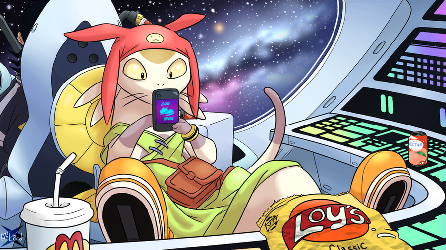 Space Dandy - Meow by Azilord on DeviantArt