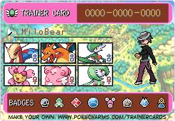 Pokemon Trainer ID by MiloBear