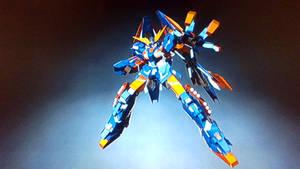Gundam Dragon NT-D mode/ mobile suit description