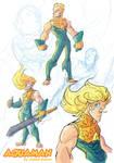 Aquaman Redesign sketches